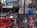 Lima Peru Fire Emergency